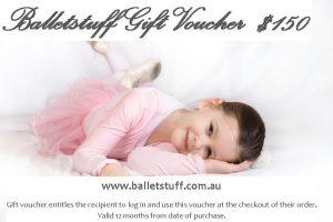 Balletstuff Gift Voucher $150
