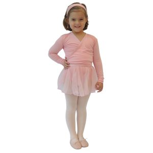 THE WORKS : Shoes Leotard Tights Skirt Xover Headband (Pink or Black)-0