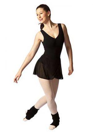 STUDIO RANGE Women's Black Wrap Skirt