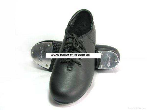 Oxford Lace Up Tap Shoe (Black)-0