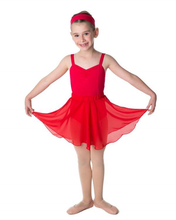 Studio Range Red Circle Skirt - Sizes 4 years to 12 years CLEARANCE-0