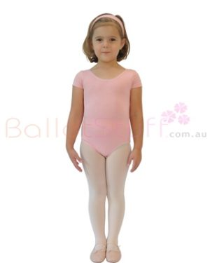 CLEARANCE Short Sleeve Dance Leotard - Child 10-12-0