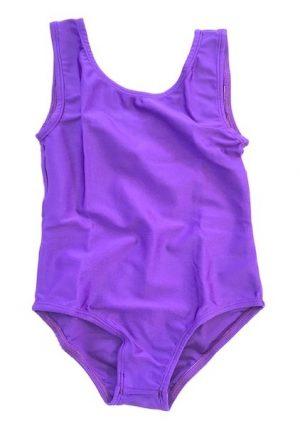 Lycra Leotard - Purple - Size 8-10 (L) years CLEARANCE SALE-0