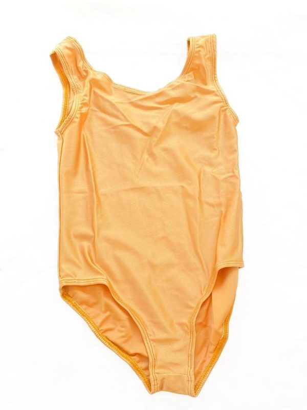 Lycra Leotard - Nude - Size 8-10 (L) years CLEARANCE SALE-0