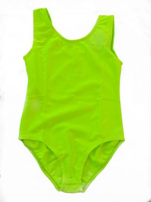 Lycra Leotard - Lime - Size 10-12 (L) years CLEARANCE SALE-0