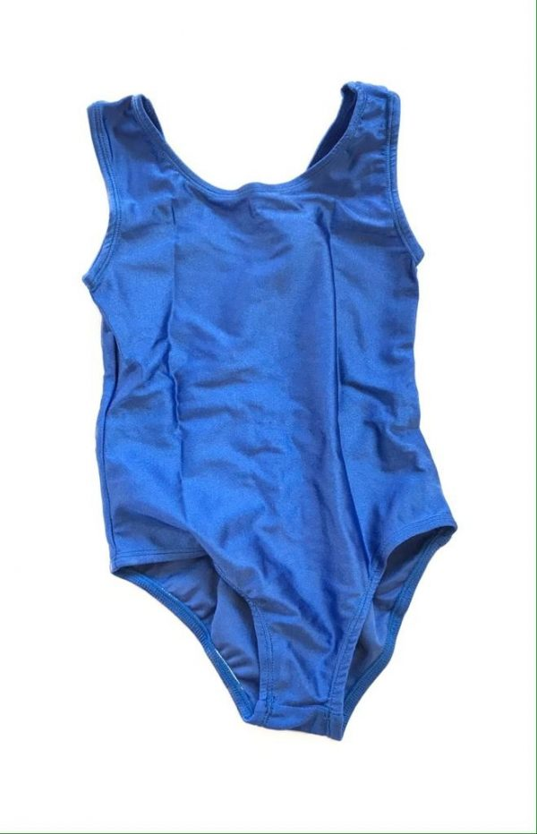 Lycra Leotard - Blue - Size 4-6 (S) years CLEARANCE SALE-0