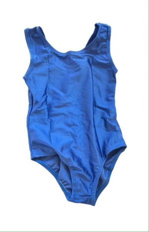 Lycra Leotard - Blue - Size 6-8 (M) years CLEARANCE SALE-0