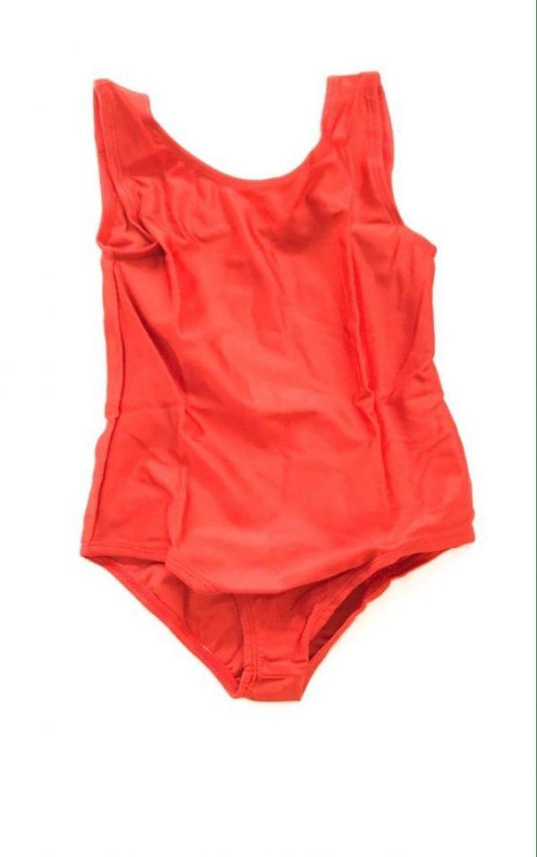 Lycra Leotard - Orange - Size 8-10 (L) years CLEARANCE SALE-0